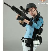 Jill Valentine. Bsaa Hot Toys. Frete Gratos. Fora Do Brasil