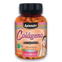 Colageno 280mg 60 Cápsulas Apisnutri O Melhor Do Mercado
