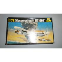 Avião Caça Messerschmitt Bf 109 F 1:72 Bombardeiro 2º Gerra.