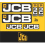 Kit Adesivos Jcb 3c Plus - Decalx