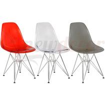 Cadeira Acrílica Eiffel Charles Eames + Nf + Garantia