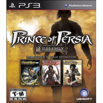 Prince Of Persia Classic Trilogy Hd   Ps3   Psn