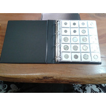 Album P/ 200 Moedas Ou Coins Holder Couro Ecologico Luxo