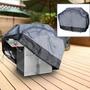 Premium Waterproof Bbq Gas Grill Cover Cinza Grande 64 Comp