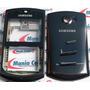 Carcaça Samsung B6520 Omnia Pro Preto + Chassi + Botões