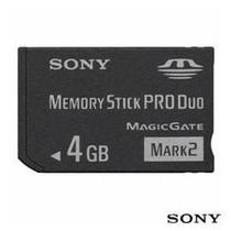 Cartão Memória Sony 4gb Memory Stick Pro Duo Mark 2 Original