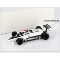 1:43 Piquet Brabham Bt-49c World Champion Formula 1 1981