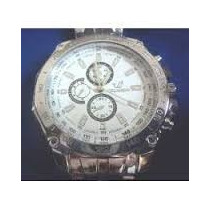 Relógio De Pulso Masculino Analógico-fundo Branco