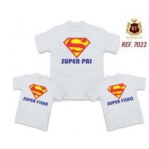 Kit Tal Mãe Tal Filhos, Filhas Super Mãe Camisetas Baby Look