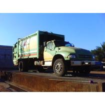 Caminhão Ford F 14000 Caçamba Coletor De Lixo Motor Mwm X10
