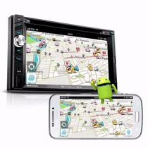 Central Multimidia Multilaser Evolve 2 Din Gps- Camera De Ré