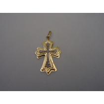 Pingente Cruz De Malta D Ouro Com Diamantes 18k Jr Joalheiro