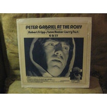 Peter Gabriel.live At The Roxy.vinil Duplo Importado.raro.