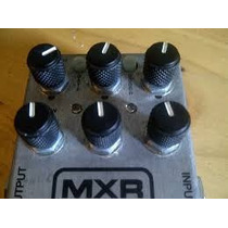 Pedal Mxr Fullbore Metal Distortion M 116 - Super Conservado