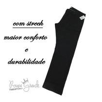 Calça Jeans Preta Tradic. C/ Strech - Barata - Masculina