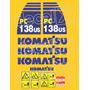 Kit Adesivos Komatsu Pc138us - Decalx
