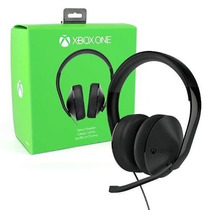 Fone De Ouvido Headset Estéreo Xbox One + Adaptador Estéreo