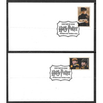 = Selos Est. Unidos= Harry Potter= 20 Envelopes Fdcs= Cinema