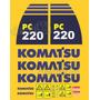 Kit Adesivos Komatsu Pc220 - Decalx