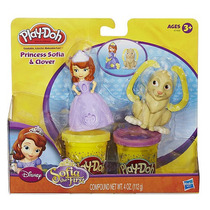Massinha Playdoh Estampa Princesa Sofia A7400 Hasbro
