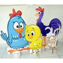 4 Display Galinha Pintadinha, Totem De Chão Lindos