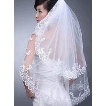Véu Acessorio Vestido De Noiva Importado Frete Grátis