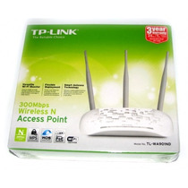 Roteador Wireless N Ap Tp-link Tl-wa901nd + Repetidor + Poe