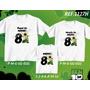 Kit Camisetas Tal Mãe Tal Pai Tal Filho Ben 10 Mickey Doki