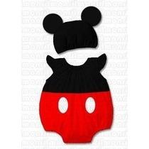 Macacão Fantasia Infantil Mickey Minnie Pato Donald