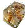 Livro Caderno De Recados Visitas Para Casamento - Dourado !!