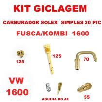 Kit Gicleur Carburador Fusca/kombi 1600 Solex Simples