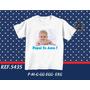 Camiseta Dia Dos Pais Personalizada Com Sua Foto E Frase