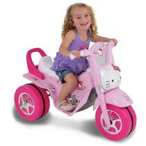 Moto Elétrica Infantil Triciclo Mini Fox Hello Kitty Carro