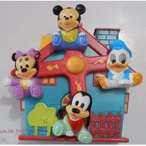 Móbile Giratório Musical Carrinho E Berço Disney Mickey Baby