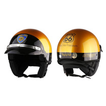 Capacete Aberto Kraft R66 Sheriff Custom Harley Drag Shadow