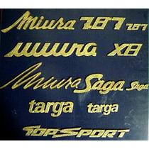 Miura - Emblemas Para Miura