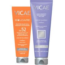 Loção Hidratante Restauradora + Protetor Solar Facial Vicae