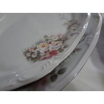 Travesas, Saladeiras E Sopeira 5 Peças Porcelana Schmidt