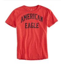 Camiseta Básica American Eagle: Tamanho G / L Nova Original