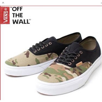 Vans Authentic California Camuflado E Preto N9-40 Exclusivo