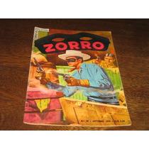 Zorro 1ª Série Nº 20 Outubro/1955 Editora Ebal Original