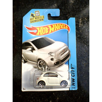 Fiat 500 Branco Hot Wheels 2014 Lote N