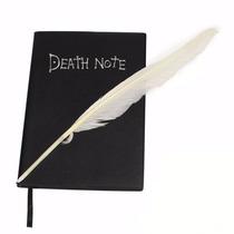 Caderno Death Note Com Pena Para Escrever Anime Manga Raito