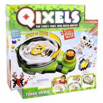Pixels De Montar Qixels Turbo Menino Multikids Brinquedo
