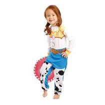 Fantasia Da Cowboy Jessie Toy Story - Tamanho P - 2 A 4 Anos