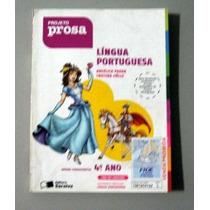 Língua Portuguesa - Prado - Hulle - 4o Ano - Projeto Prosa