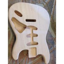 Corpo Guitarra Modelo Fender Strato Em Tauari Peça Única