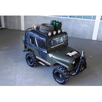 Bagageiro De Teto Para Jeep Willys Ford