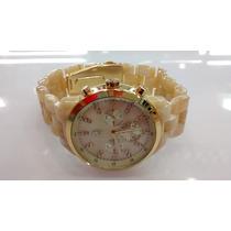 Relógio Original Atlantis Estilo Michael Kors Madre Perola