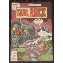 O Herói Nº 28 (2ª Série) - Sarg Rock - Ebal - 1980